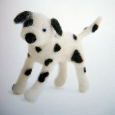 fleece dog-dalmatian | by feltcafe