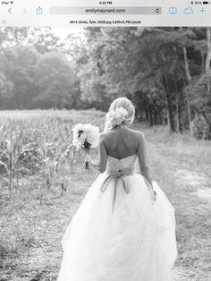 Emily Maynard wedding hair