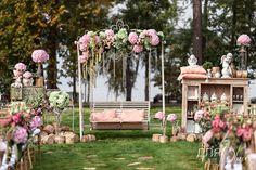 Текст, Свадебное оформление и флористика