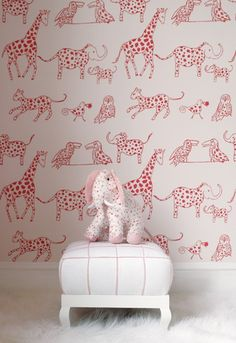 i created a new board, even though my kid is pretty grown up, just to feature this cool wallpaper by Lulu DK <3