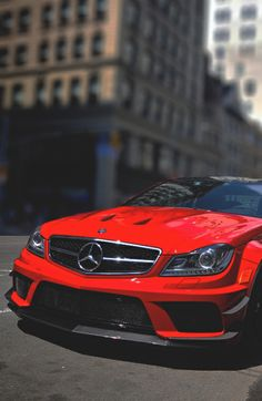 Mercedes Benz Red