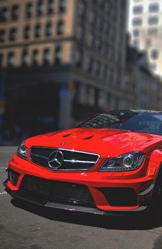 Mercedes Benz Red