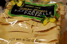 Trader Joe's Lemon Pepper Pappardelle Pasta