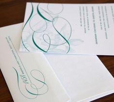 Southern Belle #digital #wedding #invitation #etsy #budding #magnolia #jade #emerald #southerncharm #oldsouth #monogram #southernwedding #weddinginvites #abbeymalcolmpress #abbeymalcolmletterpressanddesign www.abbeymalcolmpress.com  www.etsy.com/shop/abbeymalcolmpress