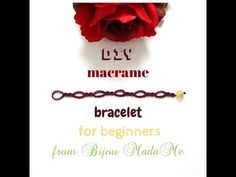 DIY Macrame bracelet for beginners. DIY macrame jewelry. DIY macrame. - YouTube
