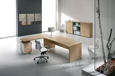 #contemporary #office furniture - Find out more at www.i-designgroup.it/en/design/office-design-284