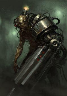 Cyber Zombie by Karl Kopinski