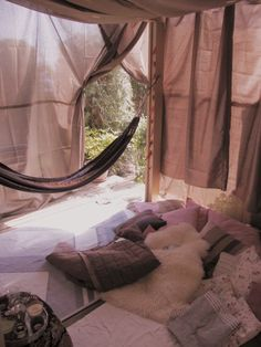 I'd love to do this to my back patio for a romantic afternoon with the hubby!!!!!