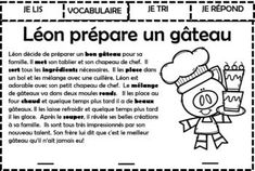 Study French, Core French, Learn French, French Language Lessons, French Lessons, Teaching French, Sun Plan, Grade 1 Reading, Teaching