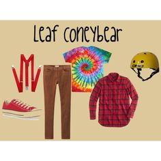 Spelling Bee Costumes - Leaf Coneybear by priscilla-anderson on Polyvore featuring J.Crew, Toast and Converse