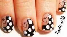 Pin Up Nail Art Tutorial !