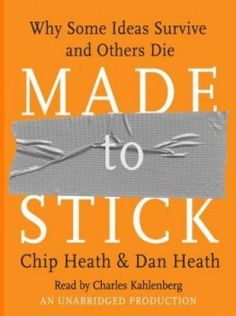 "A fantastic overview of the ""stickiness"" of ideas and how to make them spread..."