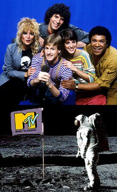 When MTV launched in 1981, the term VJ (video jockey) was coined and five new careers were launched: Nina Blackwood, Mark Goodman, Alan Hunter, Martha Quinn & J.J. Jackson.