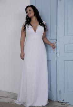 Plus size wedding gown-Blue  (1)Bina (2)