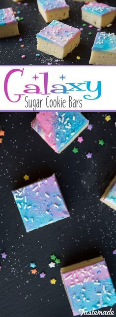 Send regular ol' dessert out of this world with this sweet and colorful treat. Super fun and colorful, perfect for parties! Save the recipe on our app! http://link.tastemade.com/HE7m/H1wHe4m2mA
