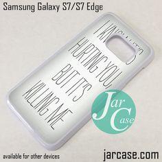 Avenged Sevenfold Lyrics 2 Phone Case for Samsung Galaxy S7 & S7 Edge