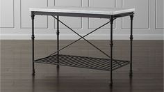 French Kitchen Island | Crate and Barrel