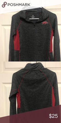 Women's razorback long sleeve shirt Women's Razorback longsleeve shirt smoke-free home Tops Sweatshirts & Hoodies Hoodies, Sweatshirts, Long Sleeve Shirts, Smoke Free, Crop Tops, Best Deals, Sleeves, Sweaters, Closet