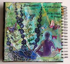 Marja's Creativity (paintings, art journals etc): Journal52, week 2
