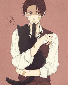 Miyoshi (Joker Game) Joker Game Anime, Guilty Crown Wallpapers, Shirow Miwa, Anime Guys, Illustration, Sketches, Animation, Fan Art, Manga