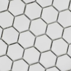 Pas Cher Hexagonale En Céramique Mosaïques Petit Blanc Hexagonale - Carrelage hexagonal blanc