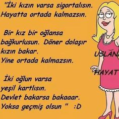 Yine kızlar.... Sufi, Meaningful Quotes, Kids And Parenting, Cool Words, Favorite Quotes, Comedy, Lyrics, Jokes, Author