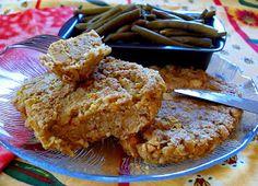 Pour 8 - 10 steaks   530 gr de pois chiches cuits  200 gr de gros flocons d'avoine  2 CàS de levure maltée  2 CàS de germes de blé  1...