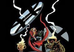 Las cuatro primeras ilustraciones de esta entrada han sido dibujadas por Quique Alcatena, un autor al que es difícil no admirar.     El pav...