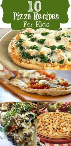 10 Yummy  Healthy Pizza Varieties For Your Kids