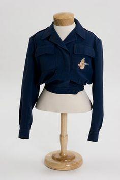 Women Airforce Service Pilots battledress jacket, 1944 - The Betty H.