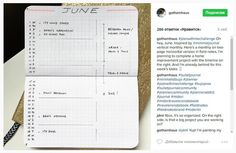 Bullet journal design and ideas
