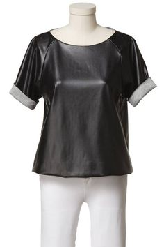 Tibi for eBay Holiday Collective. I really want a leather top.....