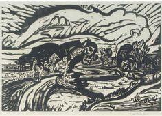 Landschap, Jan Wiegers