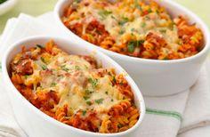 Gratin de pâtes au thon et tomates WW, recette d'un plat de pâtes complet et léger à la fois, parfait à réaliser pour varier les repas sans se ruiner.