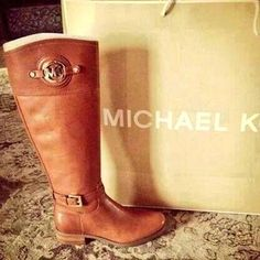 Micheal Kors riding boots. Must have!!