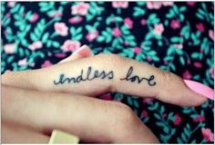 Pinning not for the tattoo itself, but the font of the letters- so pretty!