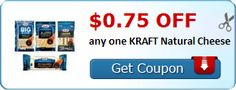 Hurry and Print this $0.75 off any one KRAFT Natural Cheese - http://www.couponoutlaws.com/hurry-and-print-this-0-75-off-any-one-kraft-natural-cheese/