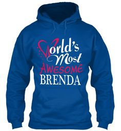 Tshirt Name Brenda !!! Royal Sweatshirt Front