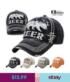 968f167c090 Hats Vintage Distressed Hat Baseball Cap - Beer - Kbethos  ebay  Fashion
