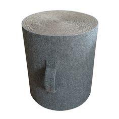 Maki Pouffe Grey