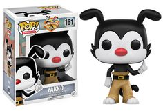 Pop! Funko Animaniacs. The Warner siblings Yakko, Wakko, and Dot, as well as Pinky and The Brain are all coming in November!