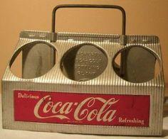Coca Cola metal carrier