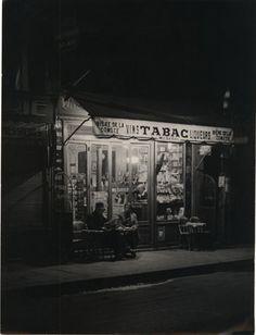 Brassaï  Paris de Nuit, Tabac  c.1935  viakvetchlandia