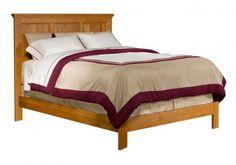 Alder Shaker Panel Bed | Archbold Furniture | Wood Furniture Manufacturer | Ohio