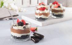Oreokake Oreo Desserts, My Glass, Cheesecake, Pudding, Christmas, Recipes, Food, Cakes, Cheesecake Cake
