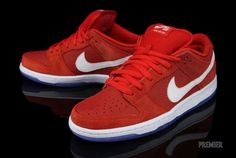 Nike SB Dunk Low 'Challenge Red'