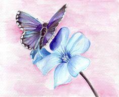 Butterfly x Flower by BaLiNa.deviantart.com on @deviantART