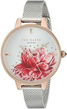814c7d6477ca Ted Baker Women s  Kate  Quartz Metal and Stainless Steel Watch