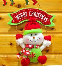 Resultado de imagen para muñecos navideños para arbol moldes