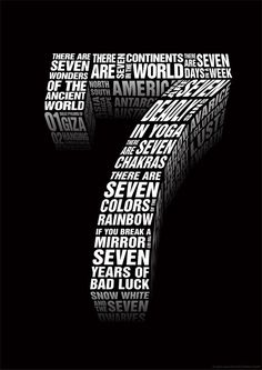 the number seven numerology